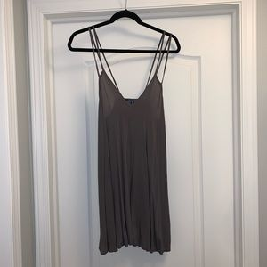 American Eagle Outfitters Grey Tank Top Dress